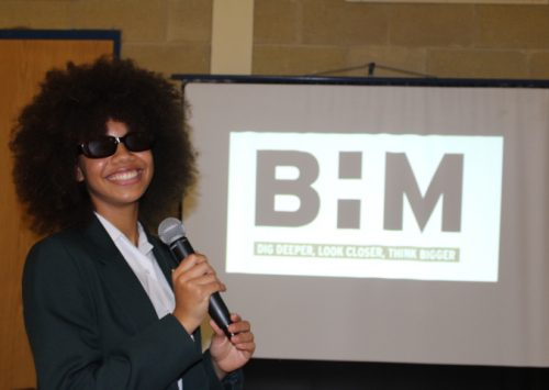 Holy Cross students and staff celebrate October Black History Month