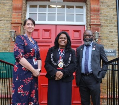 CEO of Kingston Race & Equalities Council and Mayor of Kingston upon Thames deliver Hate Crime workshop to all of Year 10